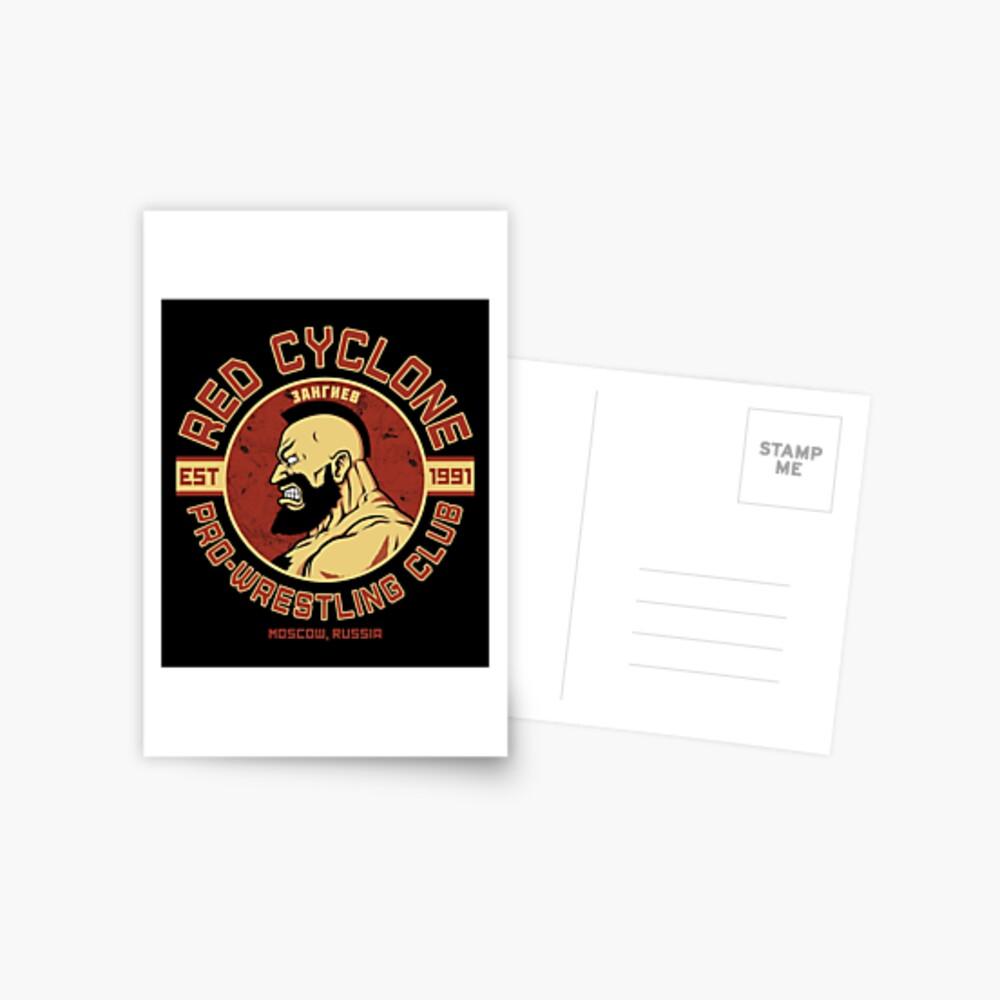 Pro-Wrestling Club Postcard
