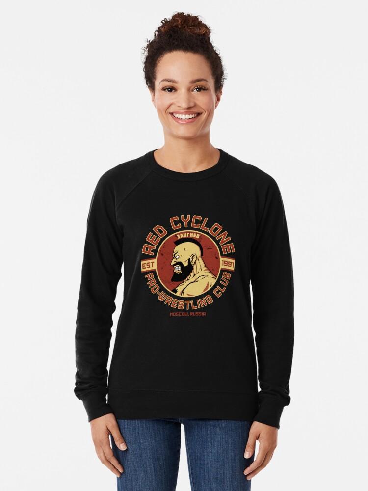 Alternate view of Pro-Wrestling Club Lightweight Sweatshirt