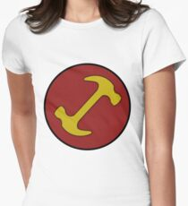 Stonecutters symbol Women's Fitted T-Shirt