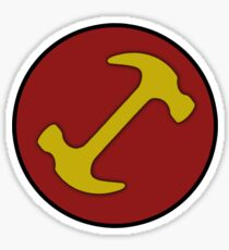 Stonecutters symbol Sticker