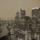 Manila by Night - Sepia by Stephen Horton
