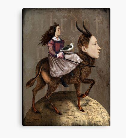 The storyteller Canvas Print