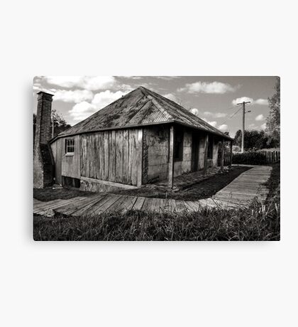 Beyer's Cottage ~ Hill End NSW Canvas Print