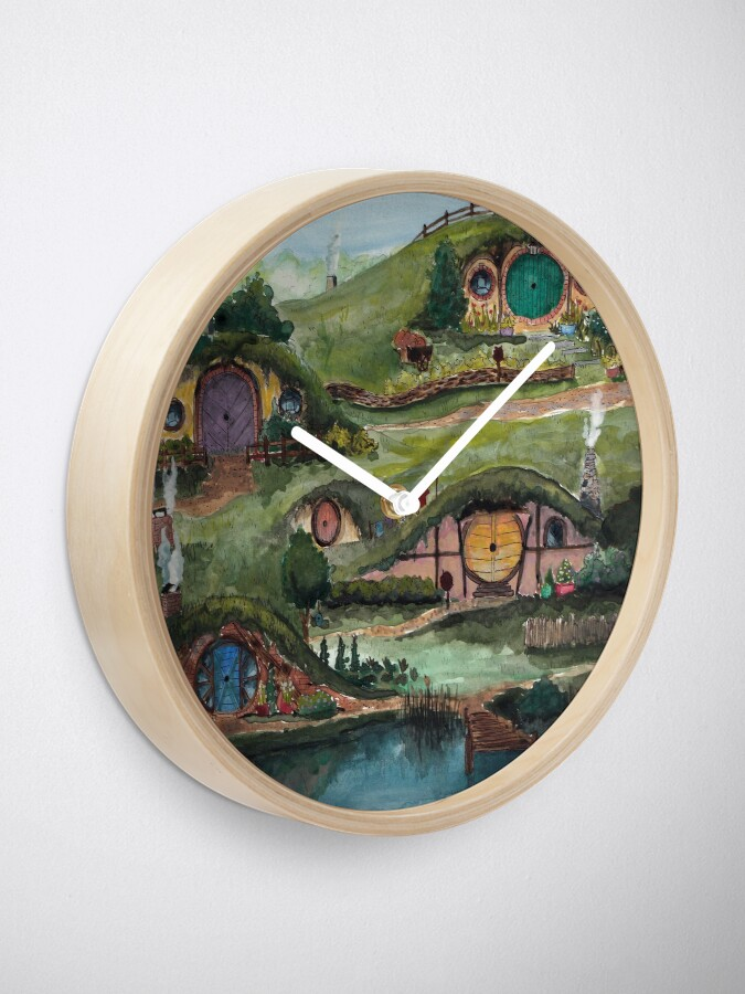 Alternate view of The Shire Clock