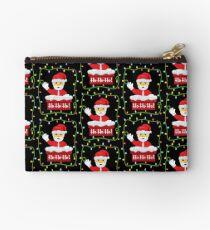 OMG Santa Coming Zipper Pouch