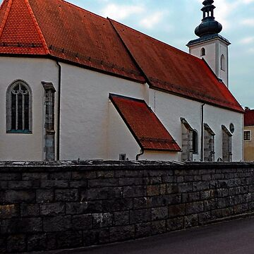 The village church of Waldburg 3 | architectural photography by patrickjobst