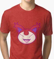 Red Kitty Tri-blend T-Shirt