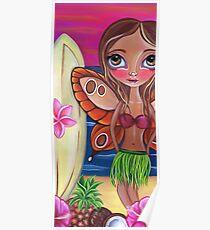 """Hawaiian Fairy"" Poster"