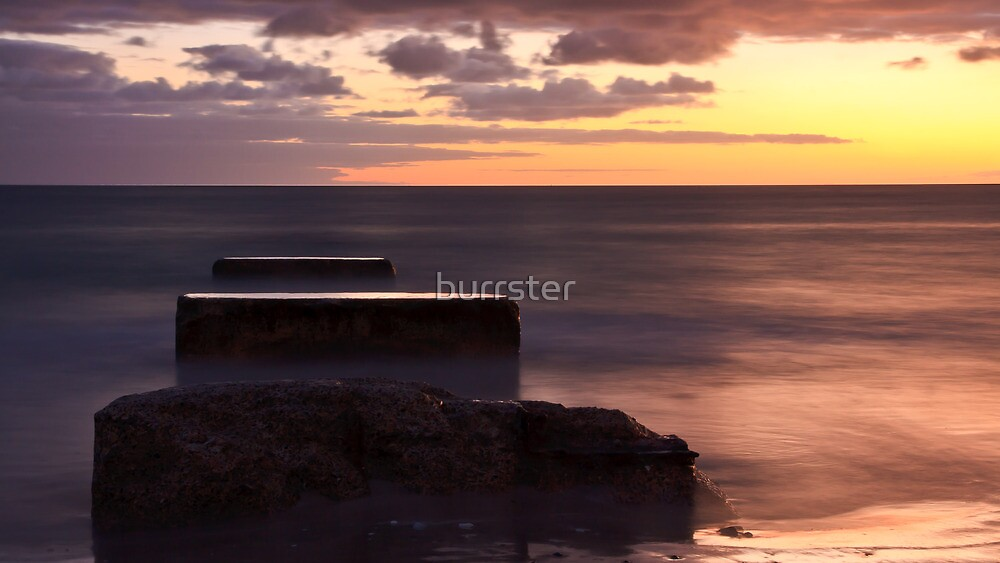 Sunset at West Beach by burrster