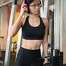 Artist At Gym Photo by Vicki Lau