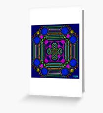 Bubbles and ribbon Greeting Card