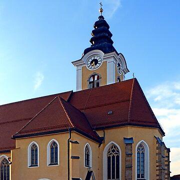 The village church of Sankt Marienkirchen 3 | architectural photography by patrickjobst