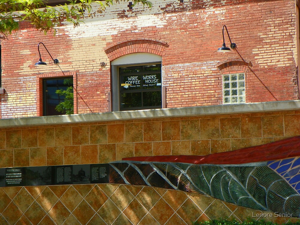 Wire Works Coffee House by Lenore Senior