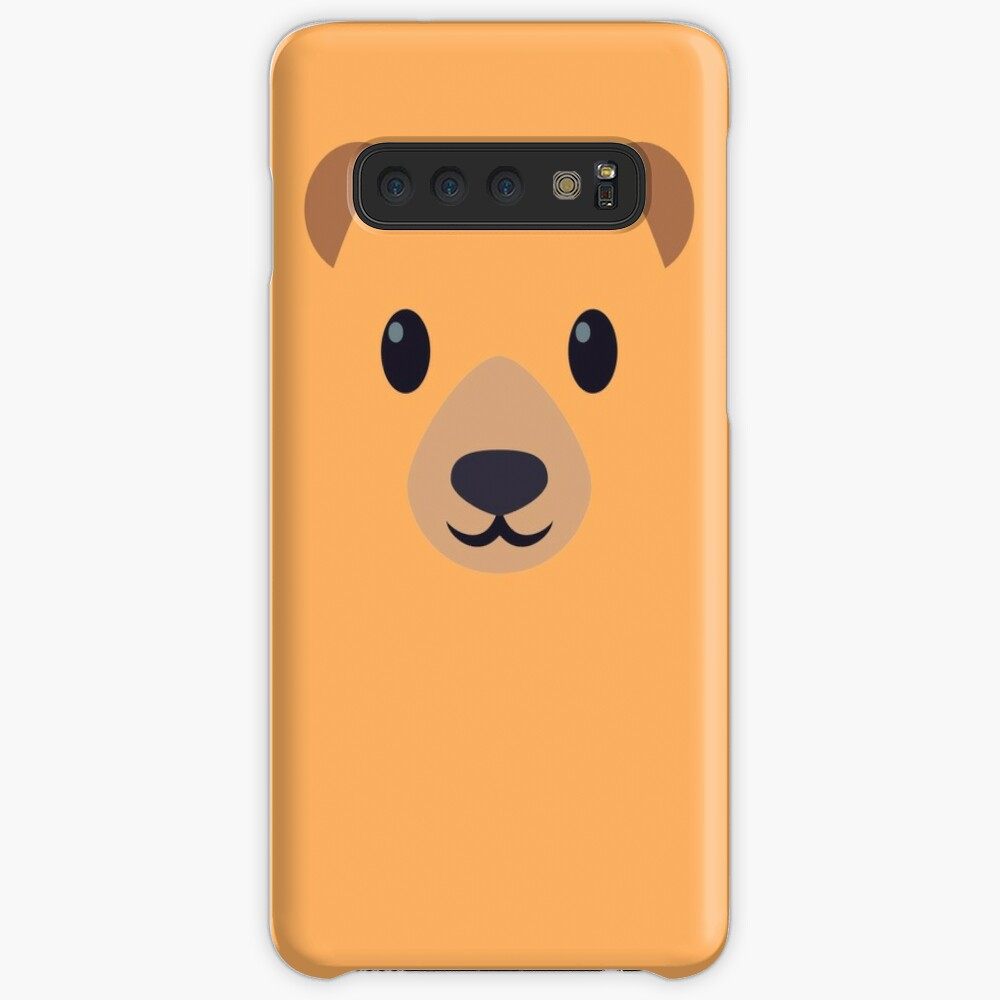 Emoji Bear Case & Skin for Samsung Galaxy