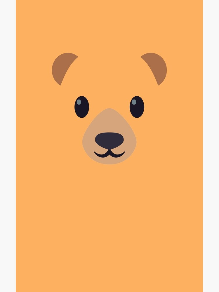 Emoji Bear by Aurealis