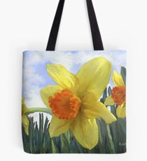 Sunlight on the Daffodils Tote Bag