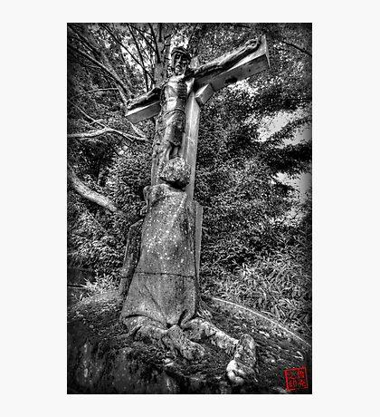 Father Forgive Me Photographic Print