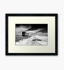Bolivian Salts Framed Print
