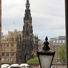 Scott's Monument from Advocates Close by Ian Coyle