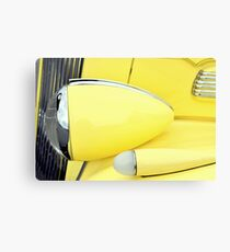 """Headlight and Parking Light"" Canvas Print"