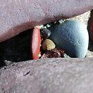 rock crevice by linsads