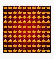 Scary pumpkins Photographic Print