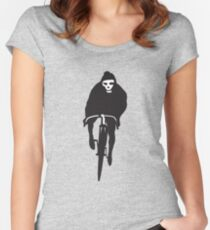 Cycling Death Women's Fitted Scoop T-Shirt