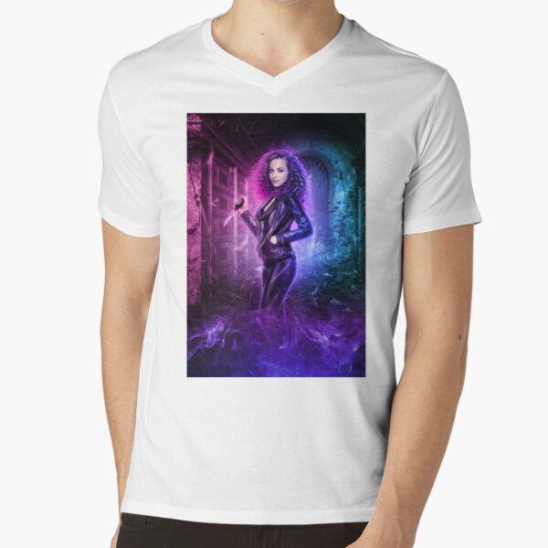 Neck-Romancer V-Neck T-Shirt