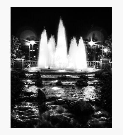 Oklahoma City Fountain  Photographic Print