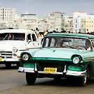 Saturday afternoon cruising on The Malecon, Havana by Fran53