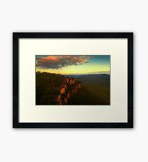 The Distant Light Framed Print