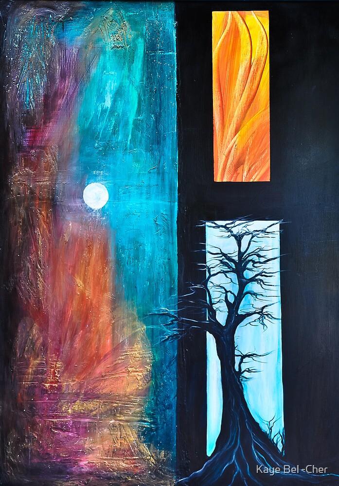 Earth/ wind /fire  by Kaye Bel -Cher