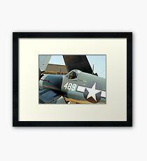 Vought F-4U Corsair, WWII Framed Print