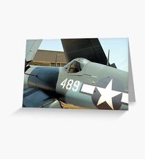 Vought F-4U Corsair, WWII Greeting Card
