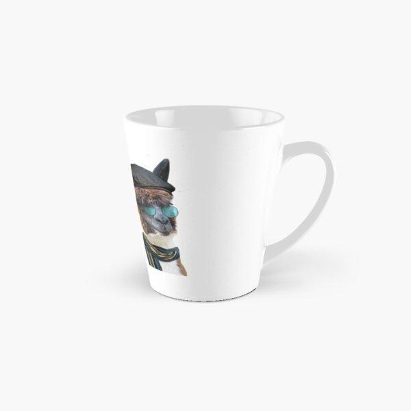 Best Friends Two Albacas Llamas Tall Mug