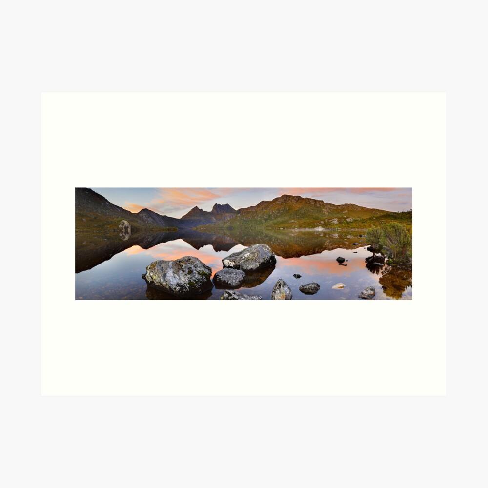 Dove Lake Dawn, Cradle Mountain, Tasmania, Australia Art Print