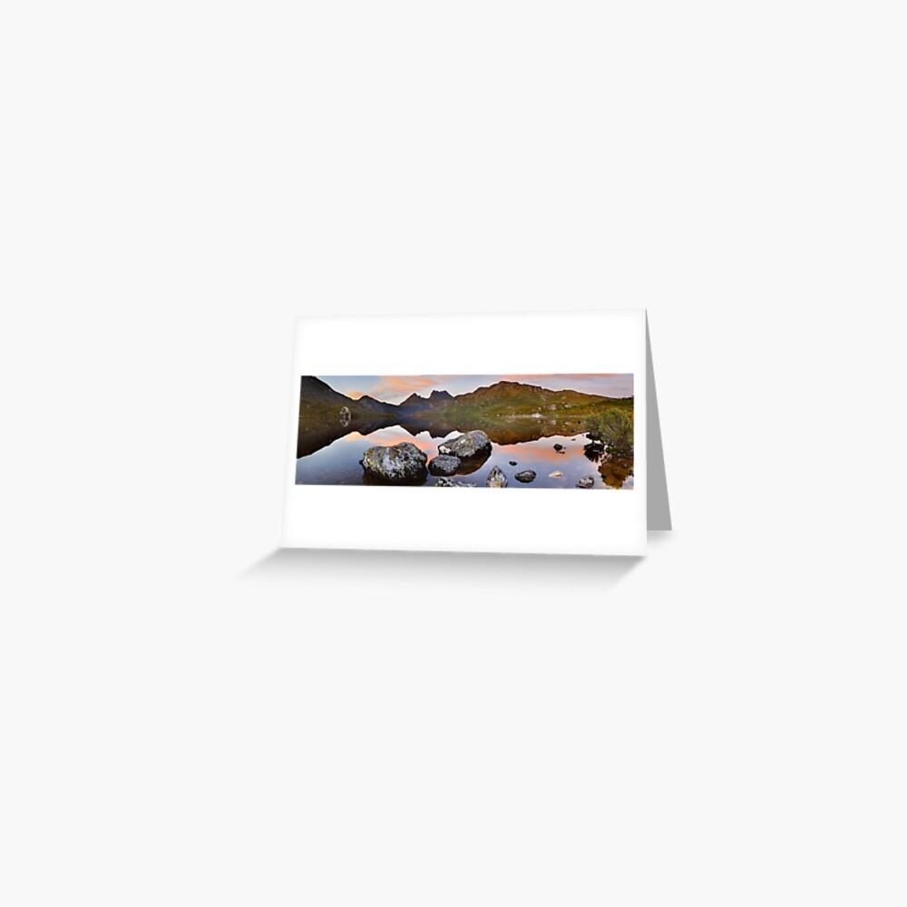 Dove Lake Dawn, Cradle Mountain, Tasmania, Australia Greeting Card
