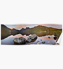 Dove Lake Dawn, Cradle Mountain, Tasmania, Australia Poster