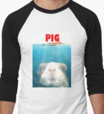 Sea Pig Men's Baseball ¾ T-Shirt
