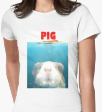Sea Pig Women's Fitted T-Shirt