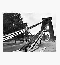 Clifton Suspension Bridge - Bristol Photographic Print
