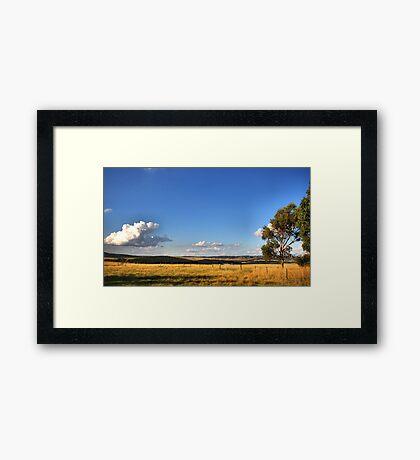 Wallan - Melbourne Framed Print