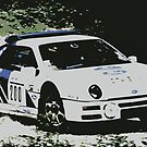 Ford RS200 Rally by Tom Gregory
