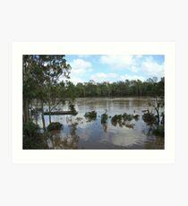 2011 South-East Queensland Floods Art Print