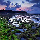 Sunset at Pantai Balangan by Dale Allman