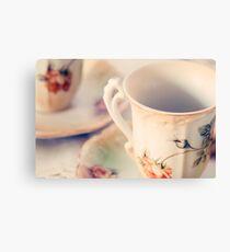 Teacups Canvas Print