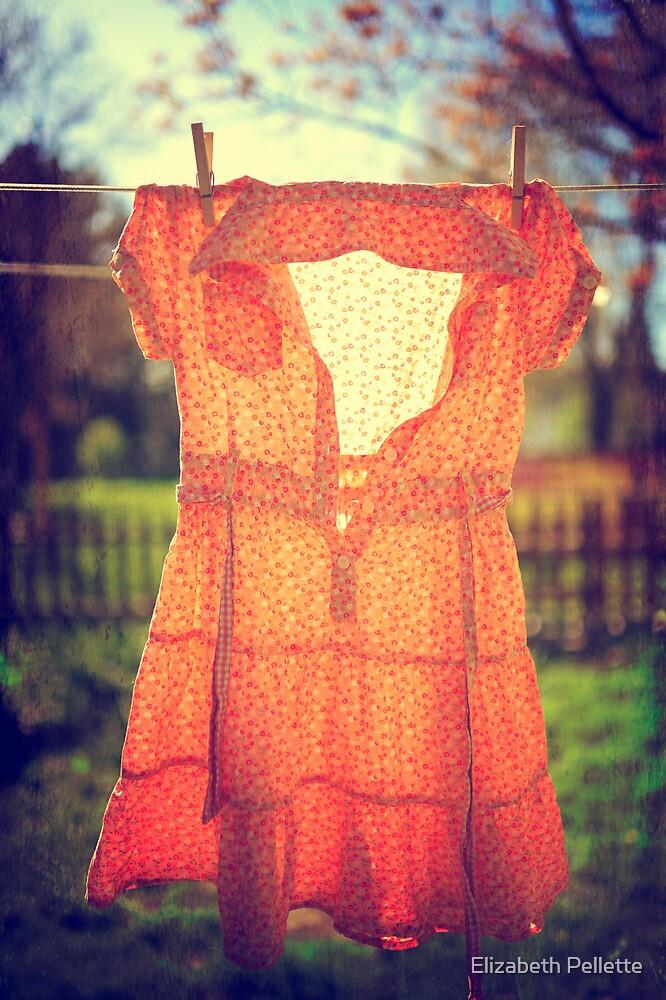 laundry day by Elizabeth Pellette