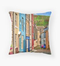 Staithes, North Yorkshire #2 Throw Pillow