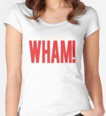 Wham! Women's Fitted Scoop T-Shirt