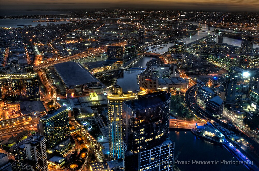 Magnificent Melbourne by Dean Prowd Panoramic Photography